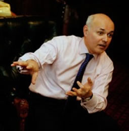 Iain Duncan Smith (not) doing the Harlem Shuffle